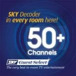 sky tv 50 plus channels